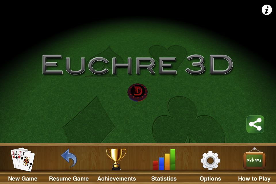 Screenshot Euchre 3D